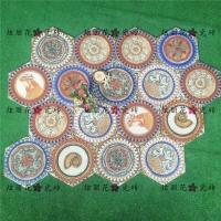 佛山瓷砖慕斯凯炫丽花系列六角砖258*298mm全瓷异国风情