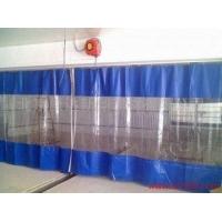 天津透明折叠门帘销售,洗车行防水帘定做,透明度高,格挡性能好