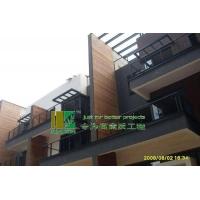 青岛炭化木(碳化木)木幕墙