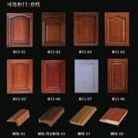 南京實木家具柜門/套線-顏色樣板