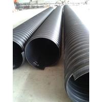 DN800国标钢带增强聚乙烯PE螺旋波纹管