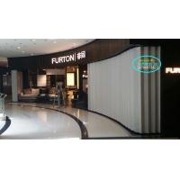 西安供应PVC折叠门、商铺折叠门、铝合金折叠门
