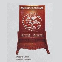 康华-实木家具系列屏风