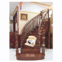 康华-实木楼梯系列楼梯KH-J66