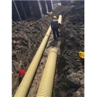 PVC双壁波纹管pvc排污管