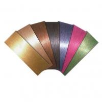 彩色不锈钢装饰板 装饰用的彩色不锈钢板材