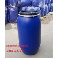 150升塑料桶铁箍法兰开口160升塑料桶