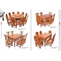 销售红木餐桌茶台
