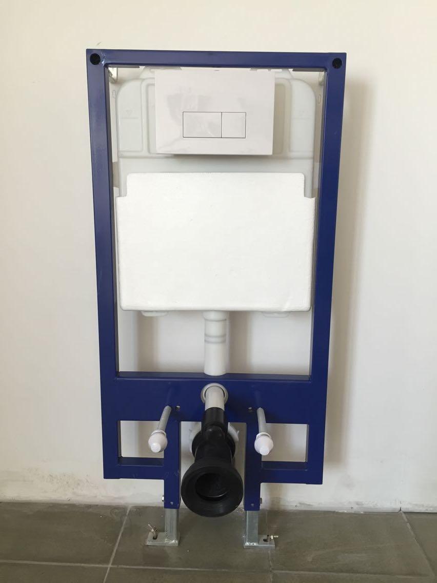 超薄型隐藏式水箱配挂厕MQ701