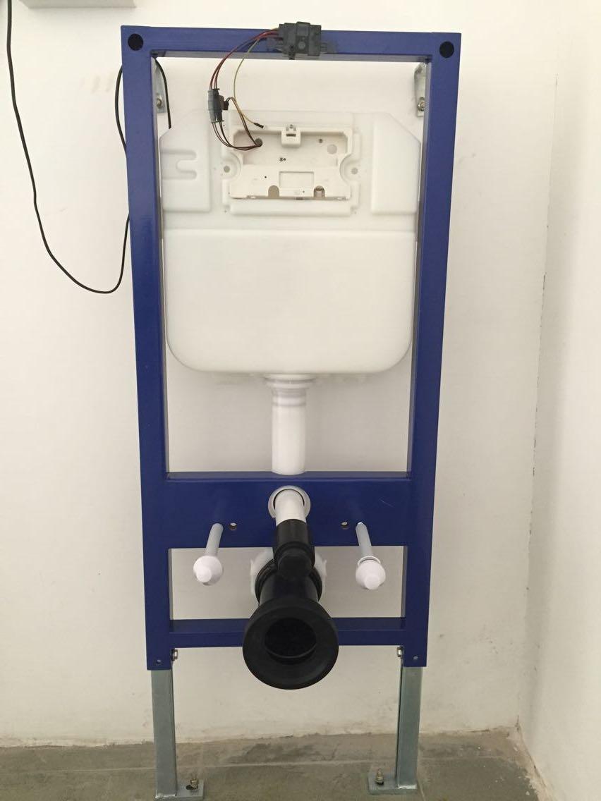 新款感应隐藏式水箱配挂厕MQ800S