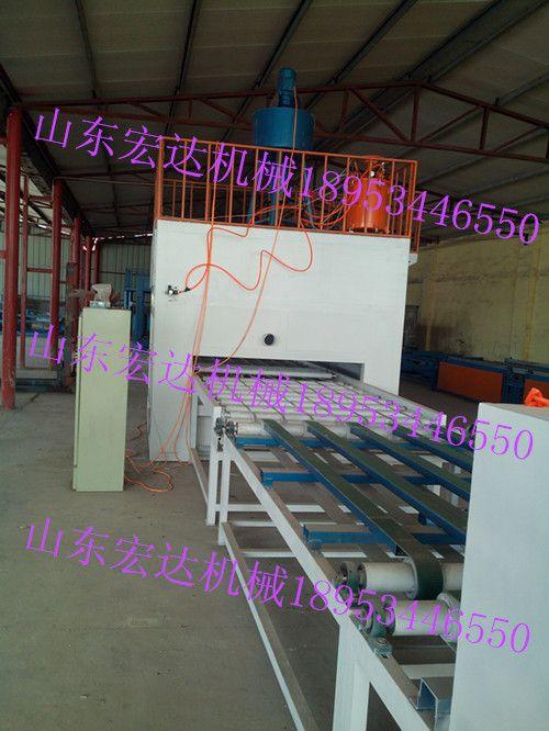 外墙保温装饰板一体化机械设备生产线