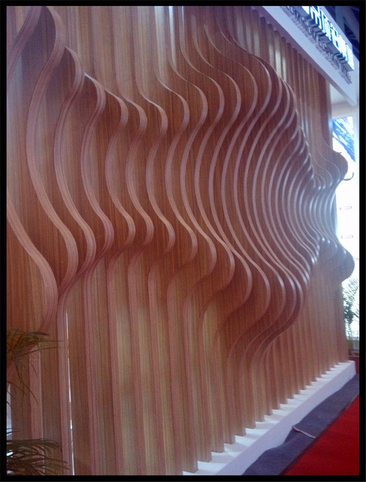 做门头包柱波浪弧形铝单板墙面造型铝板氟碳漆