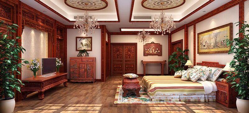 成都实木全屋定制成都整体中式家具中式家装pvc含甲醛家具图片
