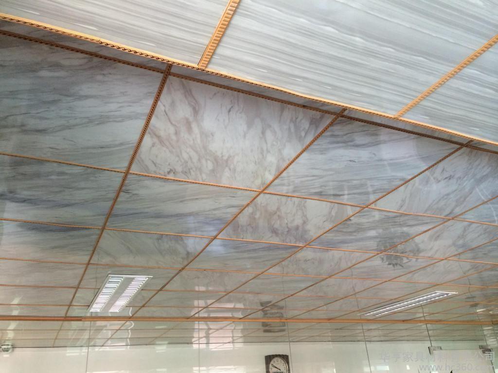 南京PVC UV板厂家 护墙板 仿大理石板 美墙板 高分子