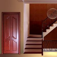 武汉厂家直营木门 实木烤漆门 套装门 红橡中式古典风H-16