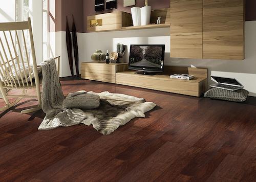 傲胜地板  15mm实木 复合地板 防潮 耐磨 哑光 黑胡桃