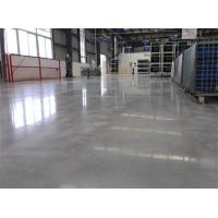 杭州水泥本色密封固化剂地坪,透明美观易清洁地坪