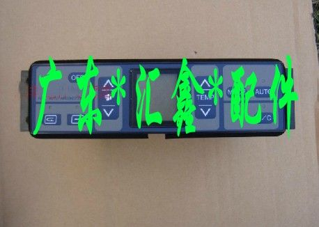 现代挖机215一7仪表盘图解