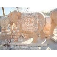 嘉祥石雕大象嘉祥石雕麒麟嘉祥石狮子
