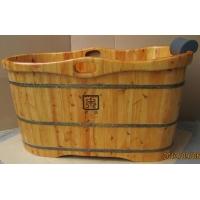 成都贵妃IV型-香柏木-实木浴桶-天森木桶