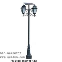 路灯厂家供应新款欧式太阳能庭院灯,景区庭院灯