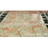 青岛供应高质量PVC仿大理石板材生产线 大理石设备