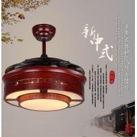 欧亿俪中式仿古隐形吊扇灯 可变光风扇灯