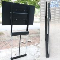 晶固电动升降电视支架 电视机升降柜