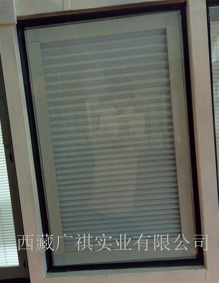 拉萨铝合金门窗,中空内置百叶窗