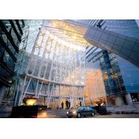 腾冲酒店外墙亮光银铝单板 雕花铝扣板 铝格栅供应