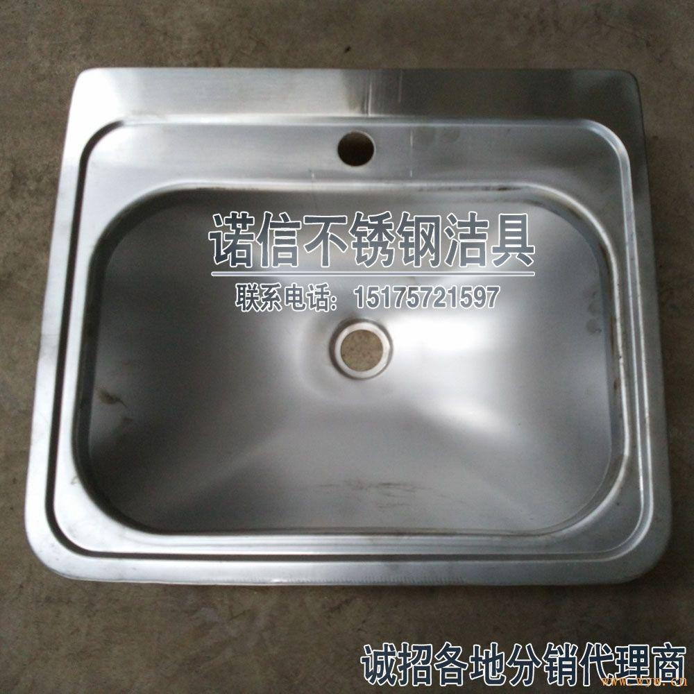 不锈钢洗手洗面盆,不锈钢立柱盆,不锈钢拉丝盆_诺信不锈钢洁具