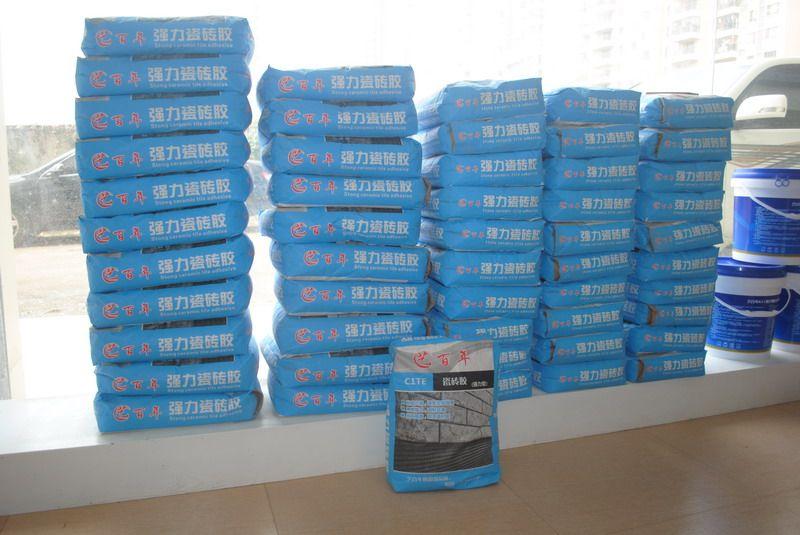 英德市德佳汇新型建材有限公司强力瓷砖胶