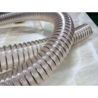 PU钢丝伸缩软管,PU吸尘管,PU集尘软管,pu软管
