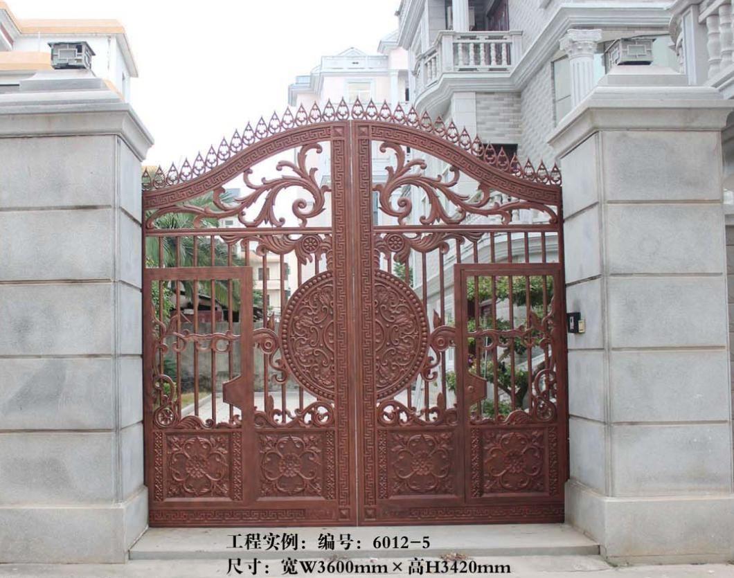 别墅欧式庭院大门|铝合金庭院门