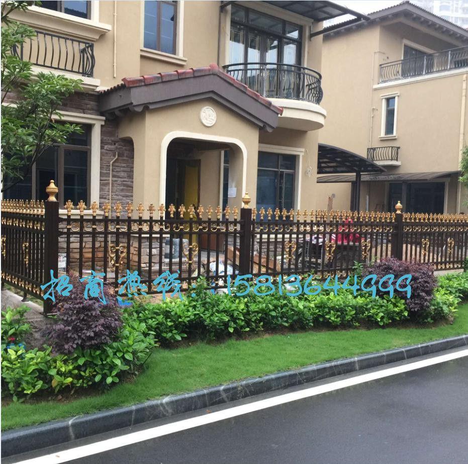 别墅新型铝艺建材产品铝合金别墅庭院围栏栅栏