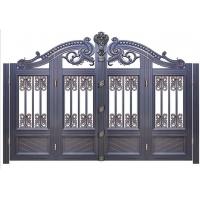 欧雅斯铸铝门-铝艺别墅庭院门-实心铸铝豪宅门