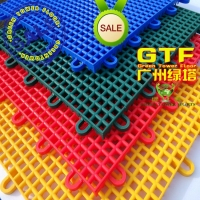 室外塑胶拼装运动地板 悬浮地垫 幼儿园幼儿园篮球场塑料地垫批