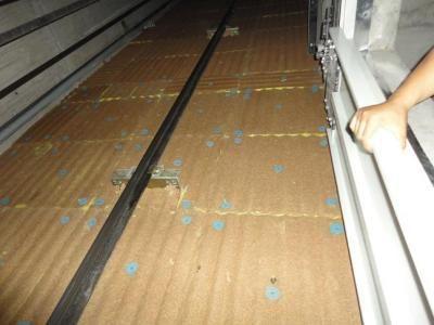 葫芦岛电梯间井道梳型板供应现货