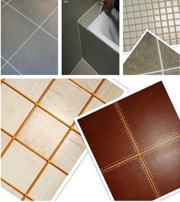 瓷砖大理石美缝胶金色银色透明美缝剂环氧树脂美缝胶