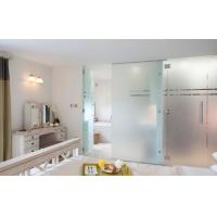 超大 超厚蒙砂 玉砂玻璃素板隔断 卫浴阳光房用玻璃