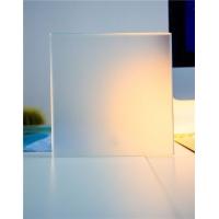 高档玉砂素板 蒙砂素板 亚光玻璃 卫浴隔断玻璃