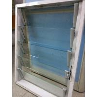 厂家供应优质4mm 5mm 6mm透明百叶窗玻璃片