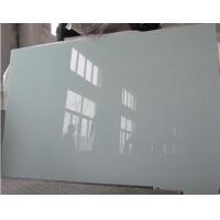 4-12mm建筑装饰用3660/2440大板蒙砂玻璃 玉砂素