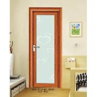 圣玺门窗-玻璃门系列SX-119-黄花梨