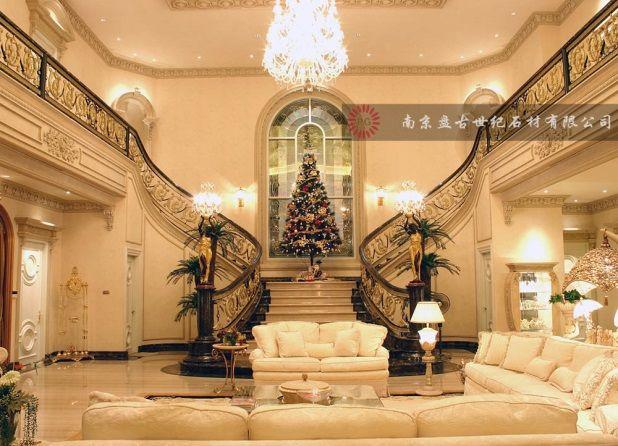 大理石楼梯踏步,楼梯板,复式楼梯,别墅楼梯图片