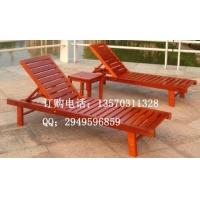 KH-G01型号户外木制沙滩椅 实木沙滩椅