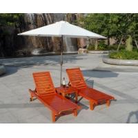 实木沙滩椅 酒店木质躺椅 燕林躺椅