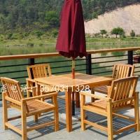 防腐实木桌椅 酒吧休闲桌椅