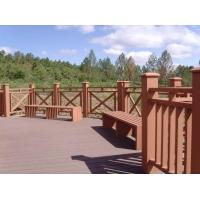 塑木护栏、木塑护栏、再生木护栏、绿可木护栏