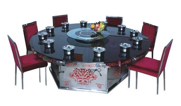 全国定做火锅店餐桌椅 电磁炉火锅桌